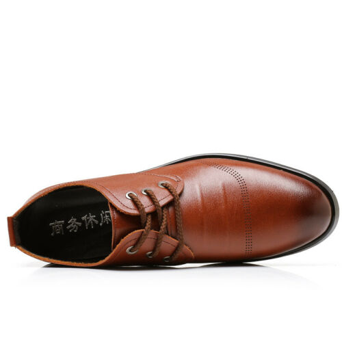 Details about  /Mens Business Leisure Faux Leather Shoes Pointy Toe Oxfords Work Office 38-44 B