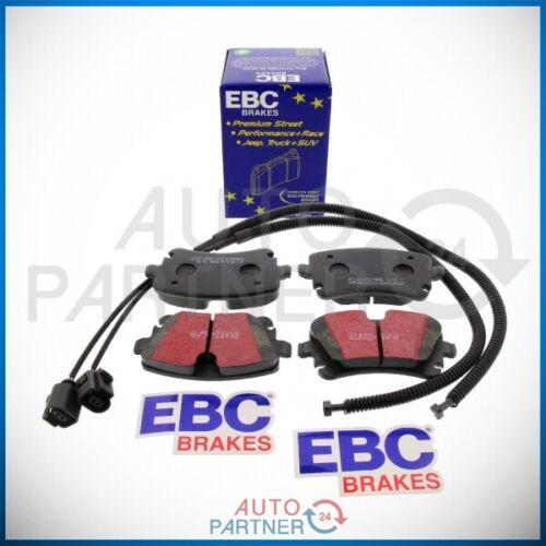 EBC Sportbremse Blackstuff Bremsbeläge Beläge hinten für Audi A6 A4 S4 1KW 2EE