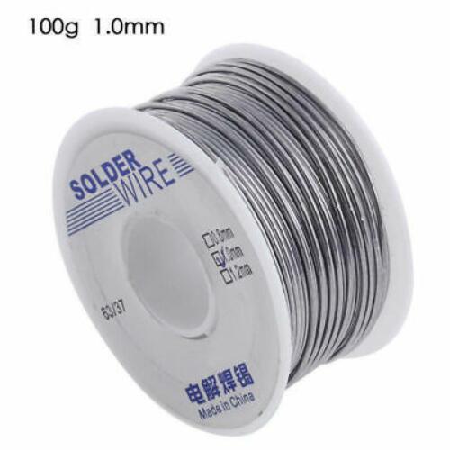 1mm Rosin Core Solder 63//37 Tin Lead Line Flux Soldering Welding Iron Wire 100g