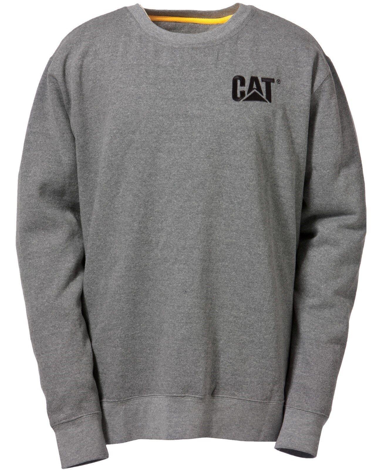 Cat Caterpillar Marque Déposée Sweat-Shirt Col Rond Rond Col Hommes Durable Travail Pull cd3662