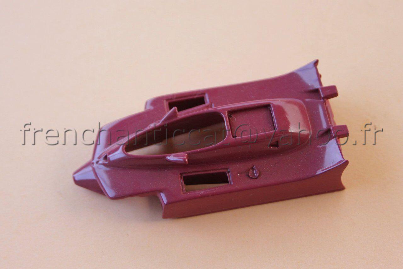 CG Voiture course Ferrari F1 312 T4 1979 coque 1 43  Heco modeles lie de vin