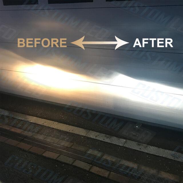 Transit MK8 12-on Xenon White Upgrade Kit Headlight Dipped High Side Bulbs 6000k