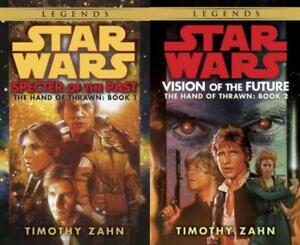 Star-Wars-HAND-OF-THRAWN-DUOLOGY-by-Timothy-Zahn-PAPERBACK-Collection-Books-1-2