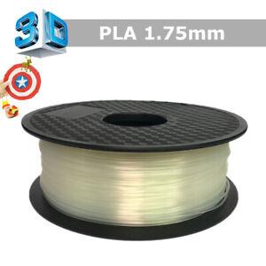 Premium-3D-Printer-Filament-1kg-2-2lb-1-75mm-PLA-Transparent-White-for-Makerbot