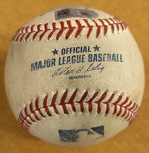 New-York-Yankees-vs-Twins-Jacoby-Ellsbury-Foul-Ball-Game-Used-OMLB-Baseball-MLB