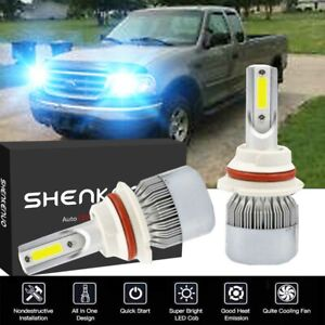 Details About 8000k 9007 Led Headlight Low High Beam Bulb For Ford F150 1997 2003 F250 97 2004