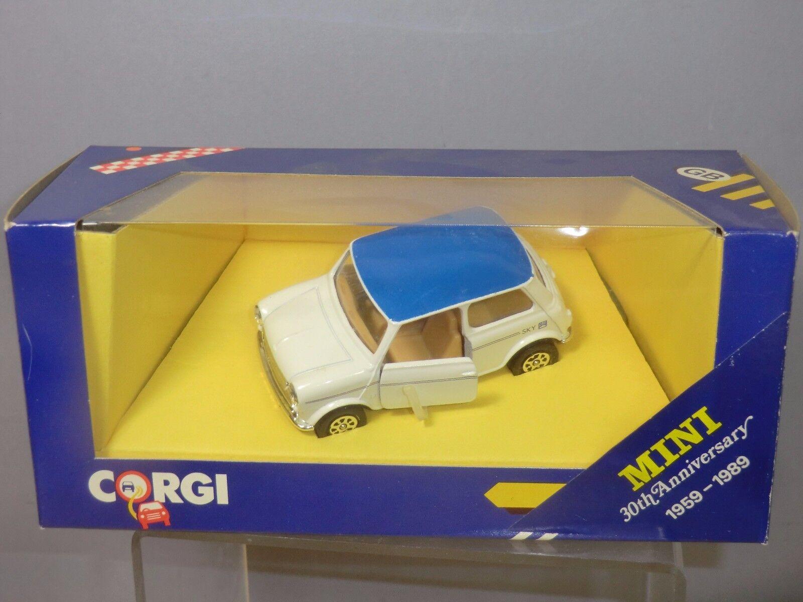 Corgi - modell no.c330 3 mini (30. jahrestag 1959-1989  mib