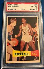 1957 Topps #77 Bill Russell Rookie PSA 6
