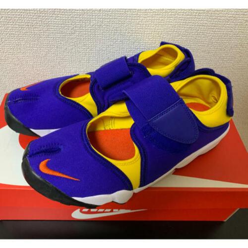 USED NIKE AIR RIFT QS Blue × Yellow × Orange Men's