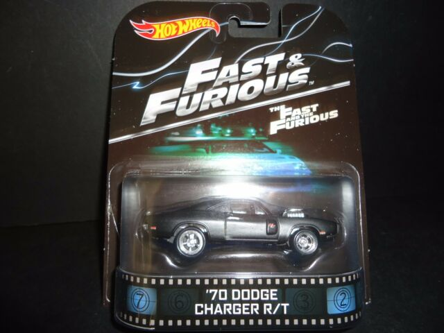 Hot Wheels Dodge Charger R/T 1970 Fast and Furious Version II 1/64 wks