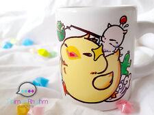 Fat Chocobo Mini ceramic Mug Final Fantasy Moogle game
