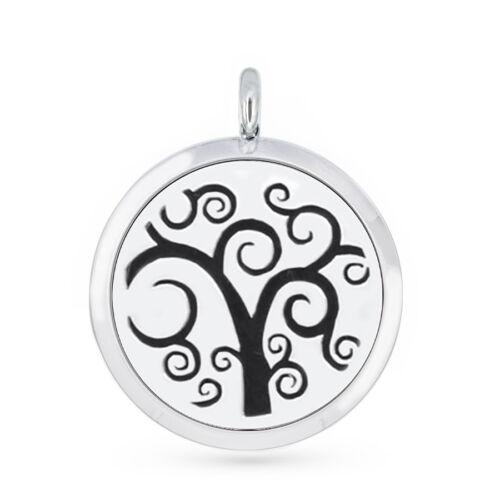 Fragrance Aroma Diffuser Locket Necklace Pendant ZInc alloy Random free Felt Pad