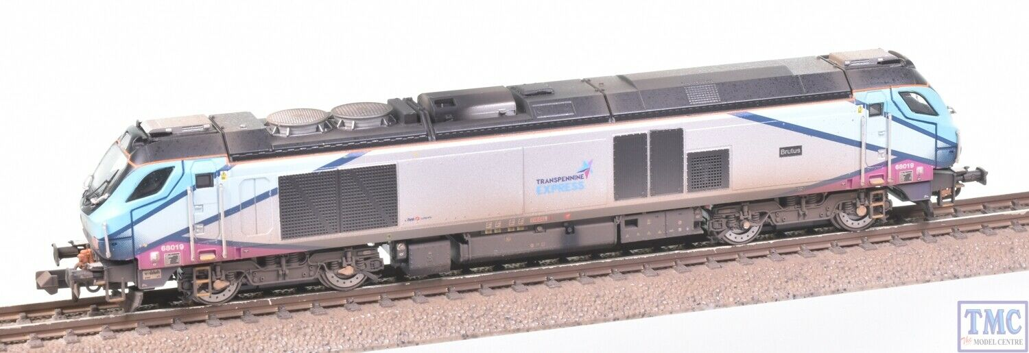 2D-022-009 Dapol N 68 68019 Brutus Trans Pennine Express VALUE Weathering by TMC