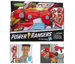 NERF Power Rangers Beast Morphers Cheetah Beast BlasterRed Dart Gun