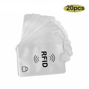 20x-RFI-Schutzhuelle-Schutz-RFID-fuer-Kreditkarten-EC-Karten-RFID-Card-blocker