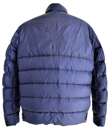 Giubbotto Aquascutum London Piumino Giacca Blu Uomo Men Jacket