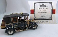 DOWNTON ABBEY car ornament & tea sampler Christmas Kurt Adler GIFT SET