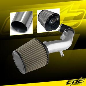 BCP 08-12 Malibu 2.4L Ecotec Short Ram Air Intake BLACK Filter