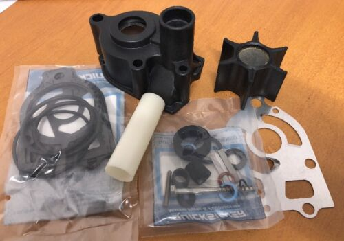GENUINE Water Pump Impeller Kit /& Housing Mercury 135HP 150HP 175HP V6 Outboard