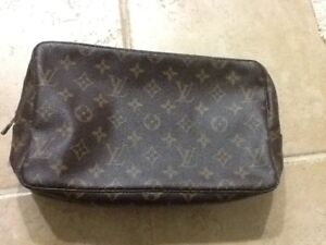 Image is loading Authentic-vintage-Louis-Vuitton-monogram-handbag-Trousse- Toilette- e1eb56d6c91a4