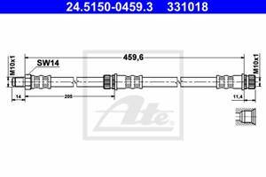 Bremsschlauch-ate 24.5150-0459.3
