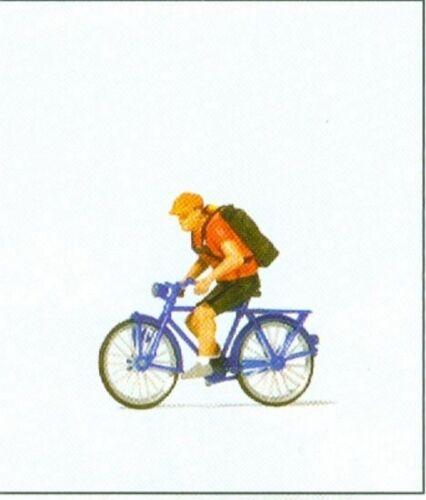 H0 Preiser 28175 Fahrradkurier
