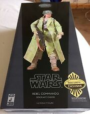 Sideshow Exclusivo Star Wars Rebel Commando sargento Endor escala 1:6