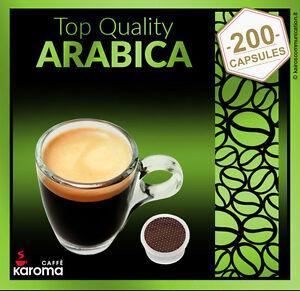 200 capsules compatible with lavazza espresso point pods. Black Bedroom Furniture Sets. Home Design Ideas