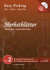 Easy Picking:Herbstblätter Vol. 2 NOTEN-TAB-CD,Folk Fingerstyle,Hanika