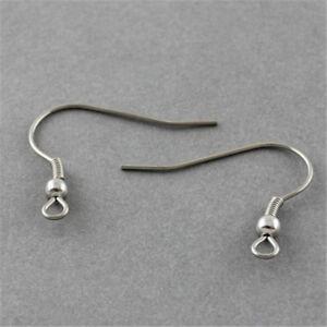 50pcs-304-Stainless-Steel-French-Earring-Findings-Hooks-Hypo-Allergenic-Earwire