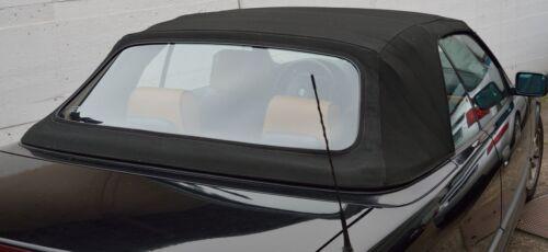 Bmw e36 cabrio flexglas con cierre de cremallera