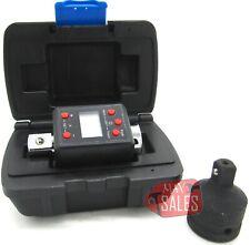34 Dr Digital Torque Wr Adaptor Micro Meter Ftlb Led 738 Flb Reducer Skt