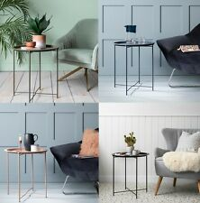 Tray Side Table Contemporary End Metal in Choice of Colours