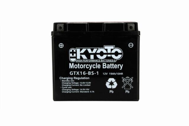 Batería Suzuki Vl 1500 intruder 1998-2008 Kyoto 712166 YTX16-BS-1