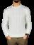 Maglia-maglione-uomo-girocollo-slim-fit-treccia-m-l-xl-xxl-moda-lana-caldo-new miniatuur 1