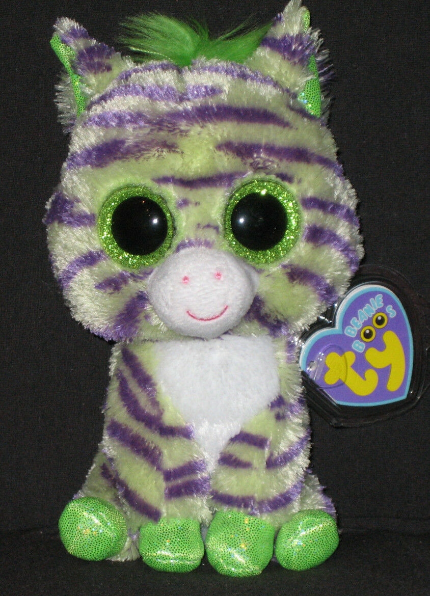 TY BEANIE BOOS BOO'S - - - WILD the ZEBRA - MINT with MINT TAGS d69731