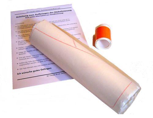 Linierung Liniensatz pass für Simson SR1 orange mit Anleitung