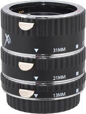 XIT Pro Series Auto Focus Macro Extension Tube Set - Canon