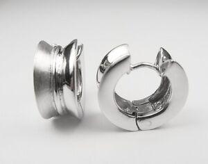 Creolen-Ohrstecker-Silber-925-er