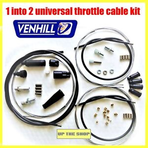 venhill featherlight clutch cable yamaha yfz 450 50mm 2003-07 auto &  motorrad: teile