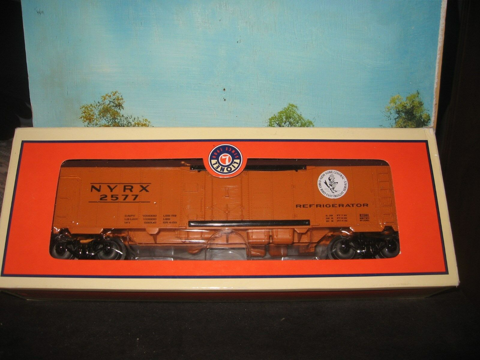 LIONEL 6-81044 NYRX MECHANICAL STEEL SIDED REEFER  2577