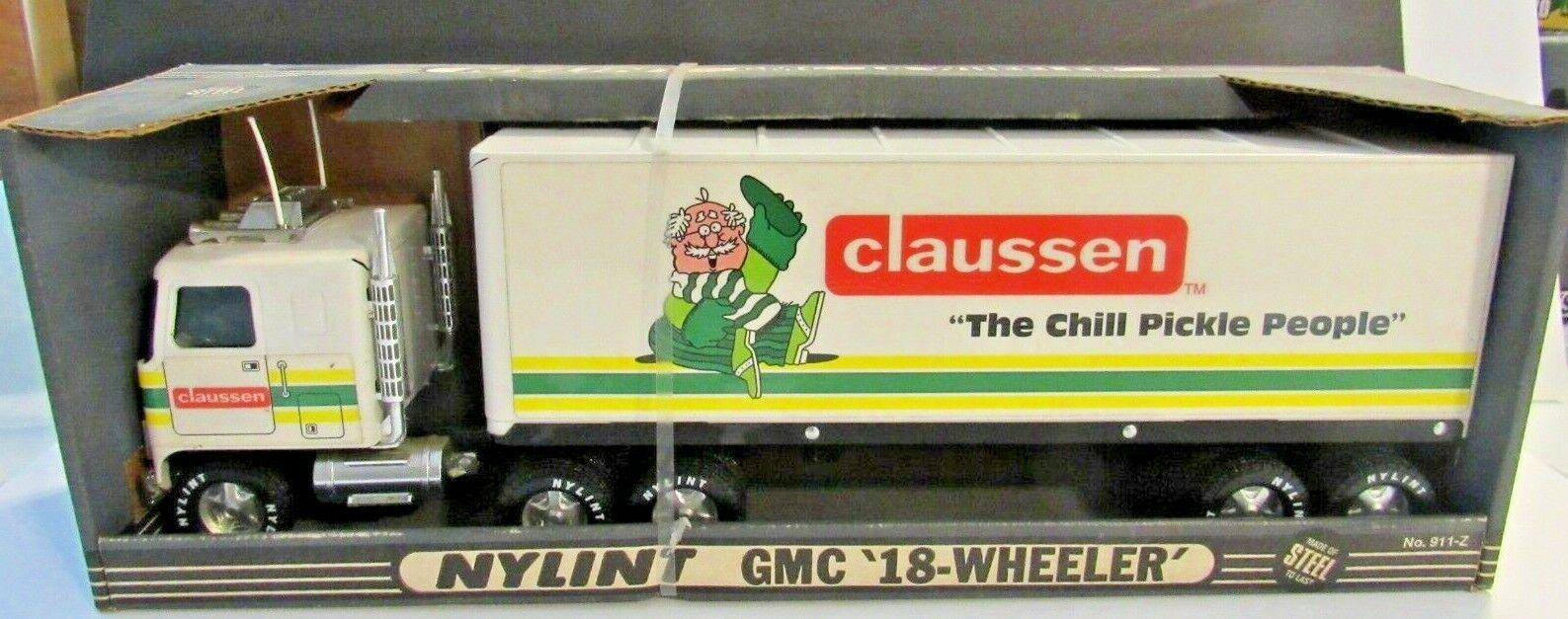 Nylint Vintage Raro Claussen Remolque Camión En Caja Original
