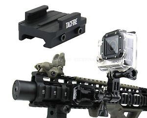 TacFire Rifle Shotgun Pistol Picatinny/Weav<wbr/>er Mount for the GoPro 1,2,3,4 Camera