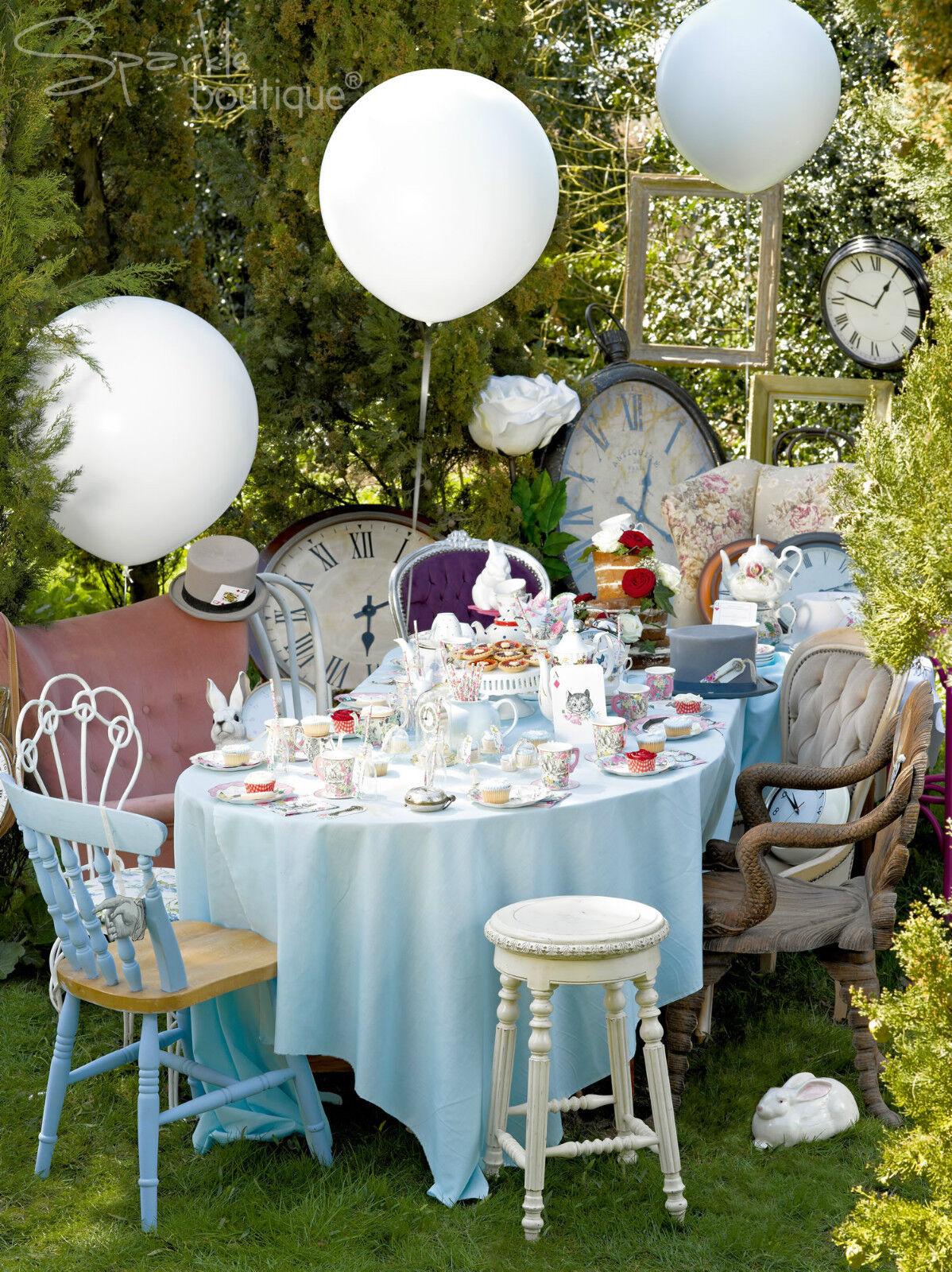 72 X Vintage Estilo verdaderamente Alice In Wonderland platos de papel Mad Hatters Tea Party