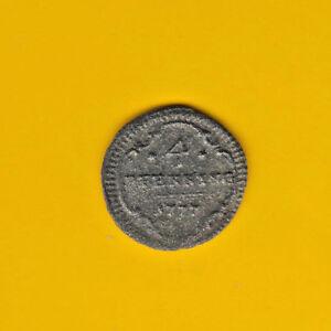 Brandenburg Ansbach 4 Pfennig 1777