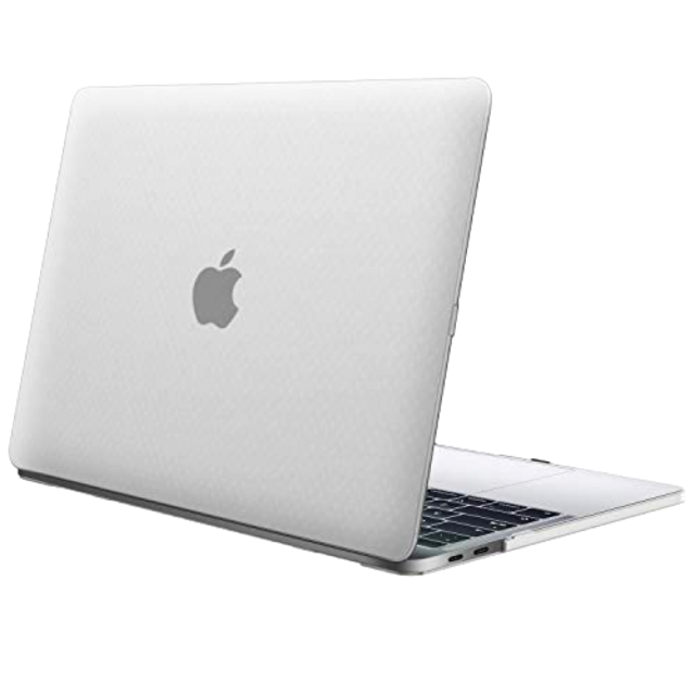 finest selection fa0e1 40cbf Apple MacBook Pro 13 2018/16 A1989 A1706 A1708 Case Hard Shell Cover Frost  Clear