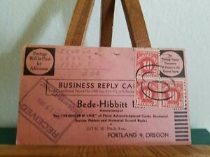 Image is loading Bede-Hibbitt-Inc-Post-Card-order-form d618fabc0a