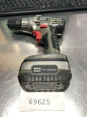 """Light Equipment & Tools Nice Master Mechanic 3/8"""" Cordless Drill Model 134454 To Win Warm Praise From Customers"""