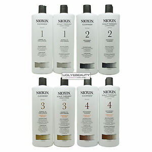 Nioxin-Cleanser-amp-Scalp-Therapy-Liter-Duo-1L-33-8-Fl-Choose-Your-System