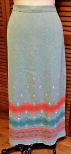 maglione in lavorato elasticizzato Gonna cotone a lunga in lunga maglia 76Sntq